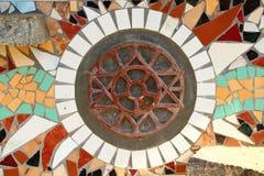 Sri Aurobindo and Mira Alfassa Symbol. India Royalty Free Stock Photography