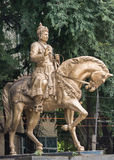 Sri Basavanna雕象在Bengaluru (画象)。 免版税库存图片