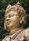 Sri Basavanna头在Bengaluru雕象的。 库存照片