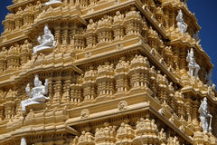 Sri Chamundeswari tempel Royaltyfria Foton