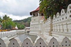 Sri Dalada Maligawa康提,斯里兰卡 库存照片