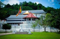Sri Dalada Maligawa/el templo de la reliquia sagrada Kandy del diente Fotografía de archivo