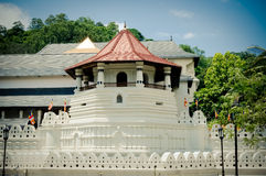 Sri Dalada Maligawa/el templo de la reliquia sagrada Kandy del diente Imagenes de archivo