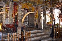 Sri Dalada Maligawa Kandy, Σρι Λάνκα Στοκ Φωτογραφίες