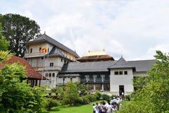 Sri Dalada Maligawa Kandy, Sri Lanka Arkivbilder