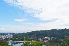 Sri Dalada Maligawa Kandy, Sri Lanka. Sri Dalada Maligawa, Kandy, Sri Lanka 2017. Pic has taken from view point Stock Photography