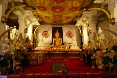 Tooth Relic Sri Lanka Royalty Free Stock Images