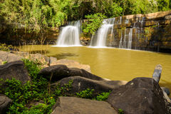 Sri Dit Waterfall Stock Images
