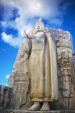 sri för aukanabuddha lanka Arkivbild