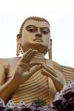 sri för lanka för buddha dambulla guld- Arkivfoton