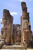 sri för lankalankatilakapolonnaruwa royaltyfria bilder