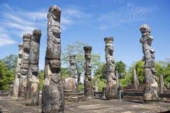 sri för polonnaruwa för lankamandapanissankalata Arkivbilder