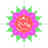 Sri Ganesha - The hindu deity Royalty Free Stock Images