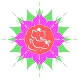Sri Ganesha - The hindu deity Royalty Free Stock Images