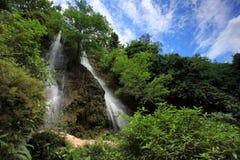 Sri Gethuk瀑布 免版税库存照片