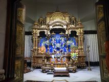 Sri jaya och Vijaya statyer royaltyfri fotografi