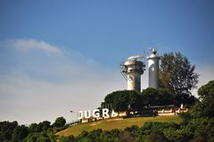 Sri Jugra latarnia morska Fotografia Royalty Free