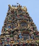 Sri Kali寺庙。 仰光。 缅甸。 库存照片