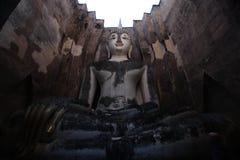 Sri-kamrat tempel, Sukhothai, Thailand arkivfoton