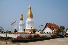Sri Kod Tha发出当当声的Phra,老挝 免版税图库摄影