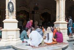 In Sri Krishna-Balaram Temple Royalty Free Stock Images