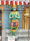Sri Krishnan Hindu Temple, Singapore Stock Photography