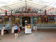 Sri Krishnan hinduisk tempel, Singapore Royaltyfria Bilder