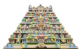 Sri Krishnan tempel Front Door Royaltyfri Bild