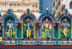 Sri Krishnan temple, Singapore Stock Images