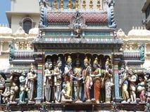 Sri Krishnan temple, Singapore Royalty Free Stock Photo