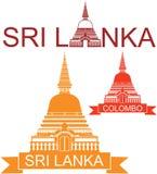 Sri Lanka Imagem de Stock