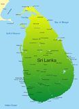 Sri Lanka stock illustration