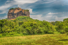 Free Sri Lanka: Ancient Lion Rock Fortress In Sigiriya Royalty Free Stock Image - 83771936