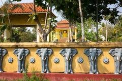 Sri Lanka attractions, old buddha temple Stock Photography