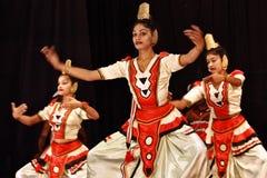 Sri Lanka: Bailarines populares en Kandy fotos de archivo libres de regalías