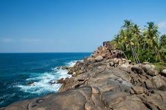 Sri Lanka beach 5. Beautiful beach on tropical island srilanka stock images