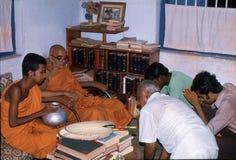 1977 Sri Lanka Bendición del agua Imagen de archivo libre de regalías