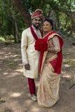 Sri Lanka brud och brudgum royaltyfri bild