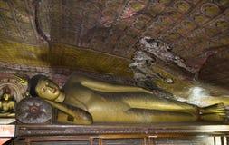Sri Lanka - buddhistischer Höhle-Tempel Lizenzfreie Stockbilder