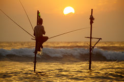 Sri Lanka, côte sud - 6 janvier ; 2011 : le Sri Lanka traditionnel Images stock
