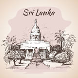 Sri Lanka, Colombo City Council Town Hall Stock Photography