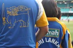 Sri Lanka Cricket shirts Royalty Free Stock Photo