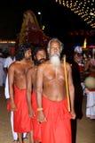 Sri Lanka, das traditionellen Tanz perfoming ist Stockbild