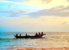 Sri Lanka fisherman Royalty Free Stock Photos