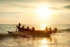 Sri Lanka fisherman Royalty Free Stock Image
