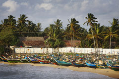 Sri Lanka: Fishing harbour Stock Photo