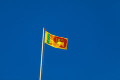 Sri Lanka flag Stock Photos