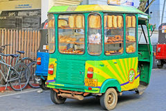 Sri Lanka Food Truck. Sri Lanka Small Food Truck stock photos