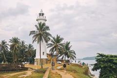 Sri Lanka Galle El fuerte Galle El faro fotografía de archivo