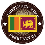 Sri Lanka Independence day Stock Photos